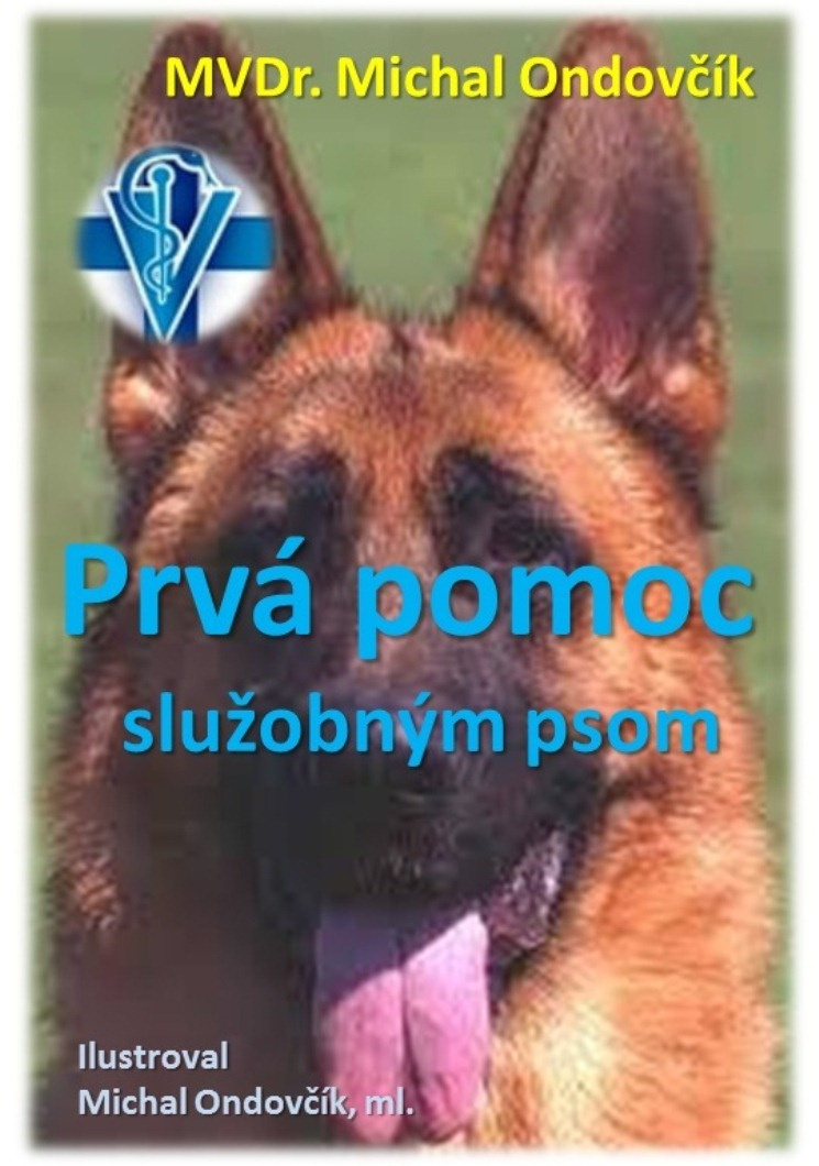 cover knihy prva pomoc psom