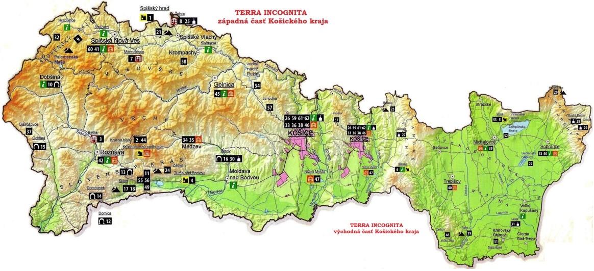 mapa KSK