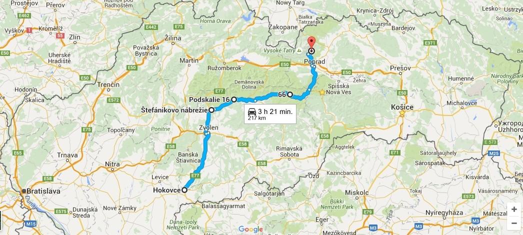 mapa route 66 SK – kópia