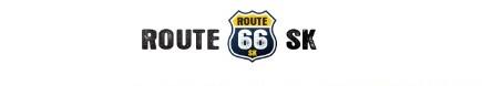 mapa route 66 SK